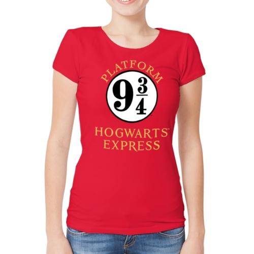 HARRY POTTER Platform 9 3/4 vágányos női póló