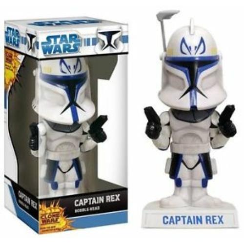 Star Wars - Csillagok Háborúja - Captain Rex bólogatós figura