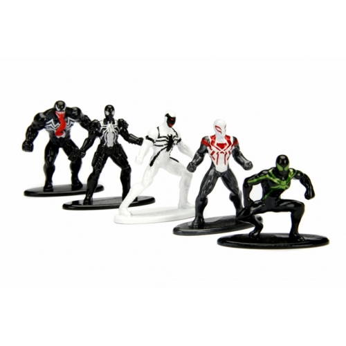 Marvel Comics - Spider-man - Pókember Nano Metalfigs figura szett