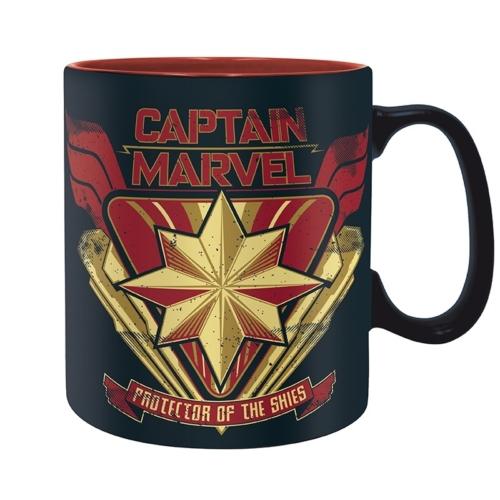MARVEL Comics Captain Marvel - Marvel Kapitány bögre 460 ml
