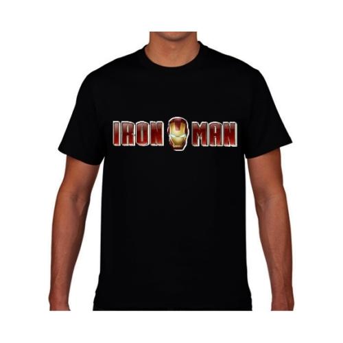 MARVEL Avengers - Iron Man - Vasember text póló