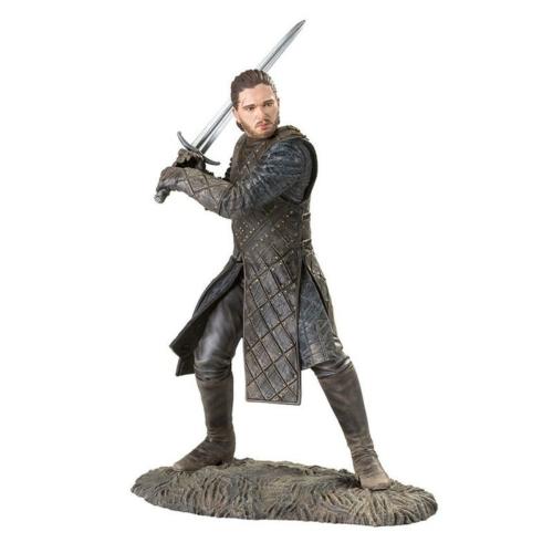 Game of Thrones Jon Snow Battle of Bastards Trónok harca Havas Jon élethű figura 20 cm