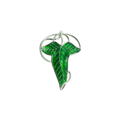 The Lord of the Rings Lorien Leaf - A gyűrűk ura 3D kitűző