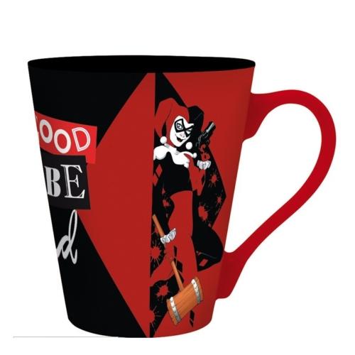 DC Comics Harley Quinn bögre 250 ml
