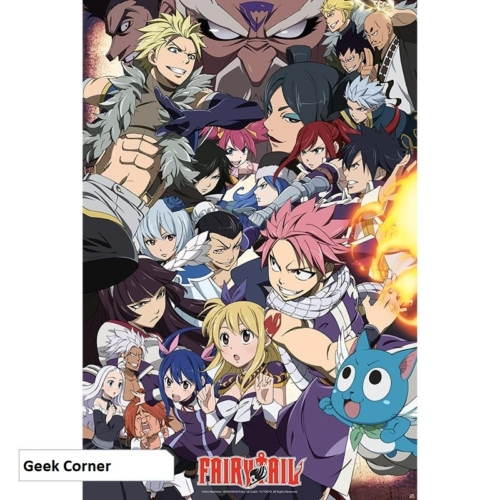 FAIRY TAIL - Fairy Tail VS other guilds poszter