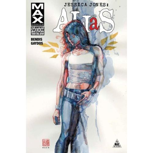 Brian Michael Bendis: Alias - Jessica Jones 2. keménytáblás képregény