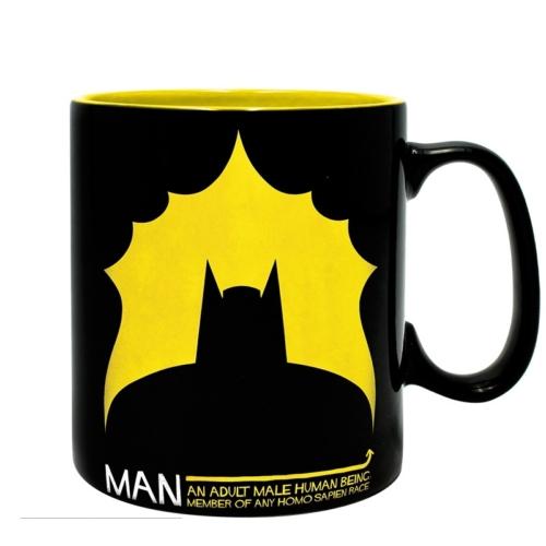 DC Comics Batman Bat/Man bögre
