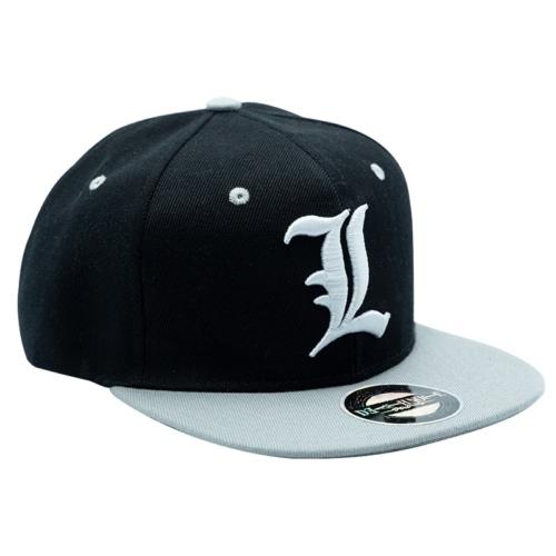 Death Note L logo állítható snapback sapka