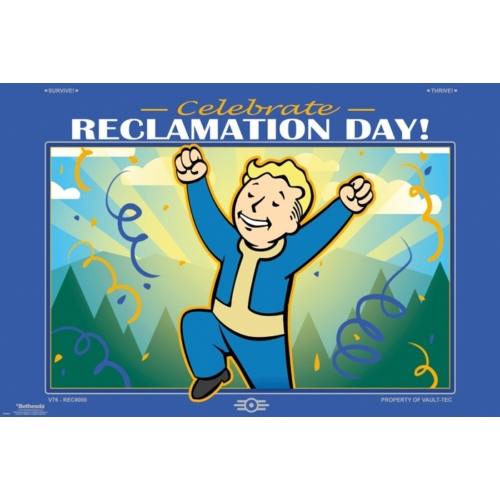 Fallout 76 Reclamation Day poszter FP4676