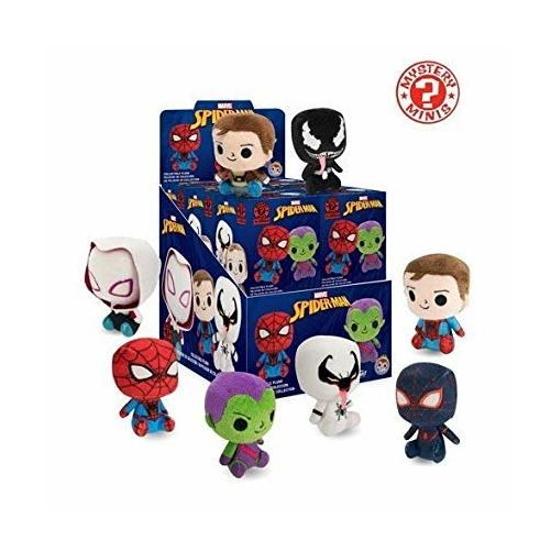 MARVEL Spider-Man Funko Mystery Mini random Pókember Plüssfigurák 5 cm