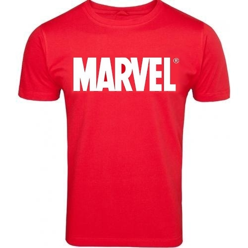 MARVEL Comics logo póló L