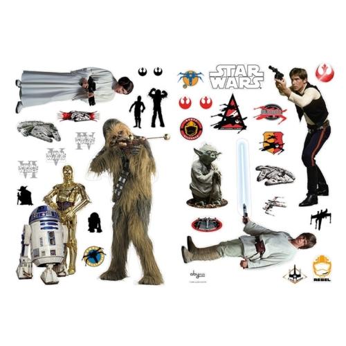 Star Wars - Csillagok háborúja lázadók fali matrica szett