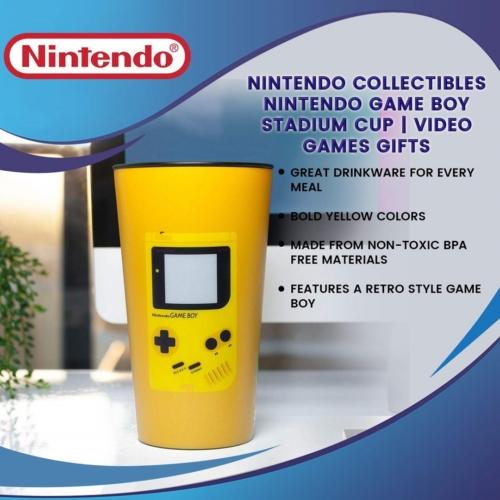 Nintendo Game Boy Stadium Cup műanyag pohár