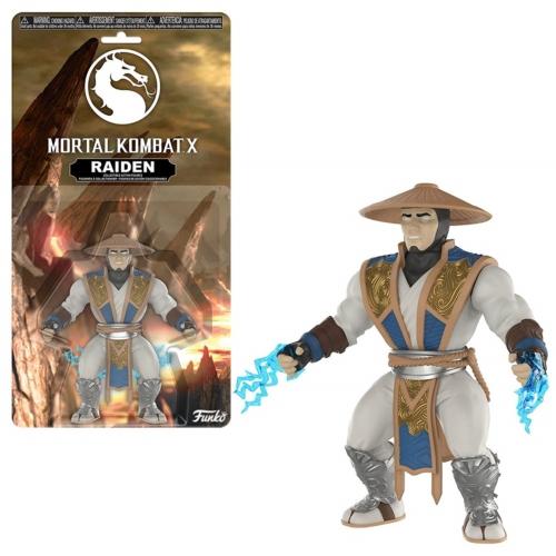 Mortal Kombat X Raiden mozgatható figura 8 cm
