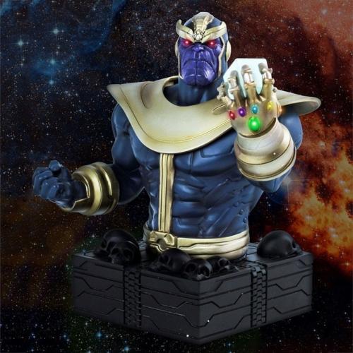 MARVEL Avengers Thanos - Bosszúállók mellszobor 16 cm