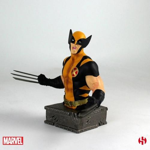 Marvel Wolverine - Rozsomák/Farkas mellszobor