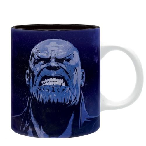Marvel Avengers Infinity War Bosszúállók Végtelen Háború Thanos bögre 320 ml