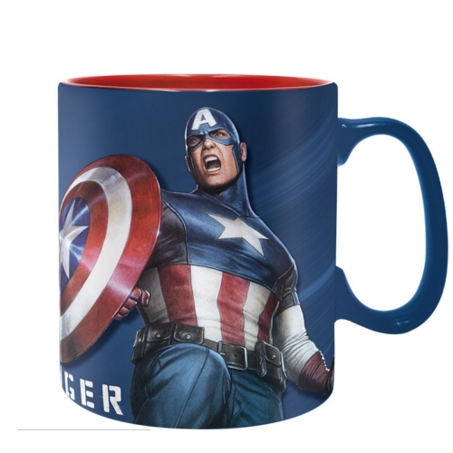 Marvel Captain America Sentinel of Liberty - Amerika kapitány bögre