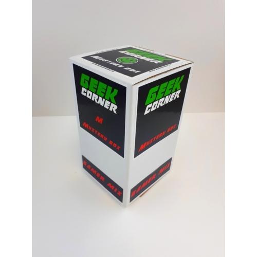 Mystery Geek box Meglepetés csomag Gamer mix Medium