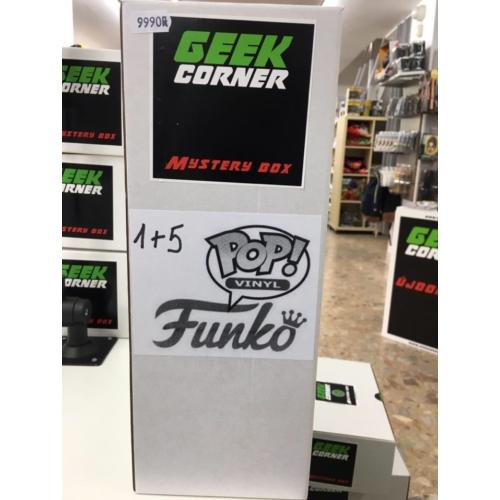 Mystery box Meglepetés csomag Funko PoP 1+5 darabos