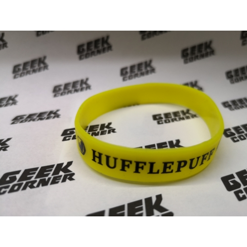 Harry Potter - Hufflepuff sárga szilikon karkötő