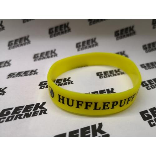 HARRY POTTER Hufflepuff Hugrabug sárga szilikon karkötő