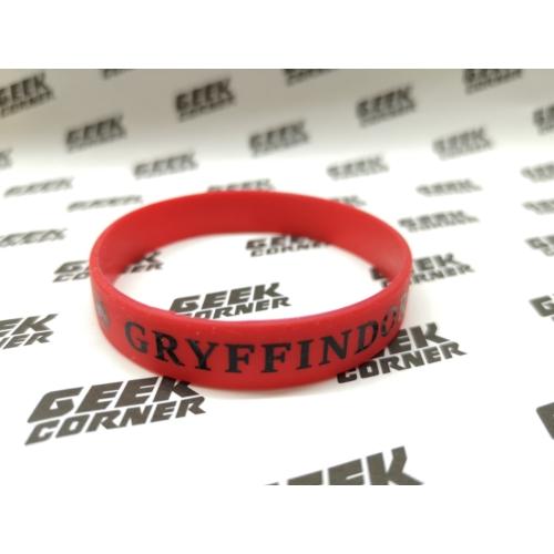 HARRY POTTER Gryffindor Griffendél piros szilikon karkötő