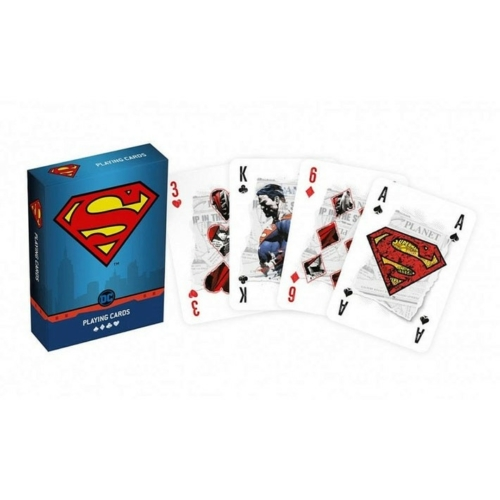 DC Superman - Francia kártya