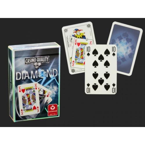 Casino Quality Diamond kék - Franica kártya