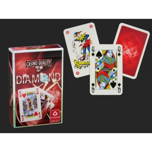 Casino Quality Diamond piros - Franica kártya