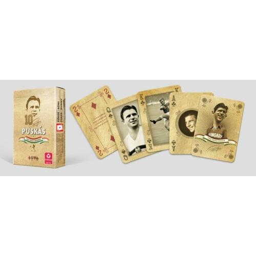 Puskás - Egy igazi legenda - Francia kártya