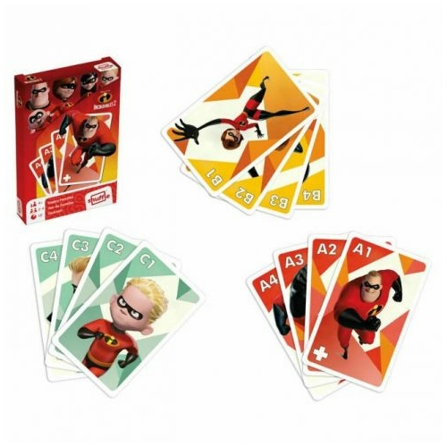 The Incredibles 2 - A hihetetlen család 2- kártyajáték