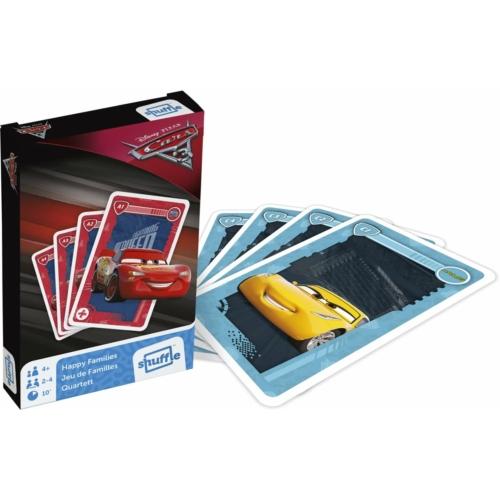 Cars 3 - Verdák 3 - kártyajáték