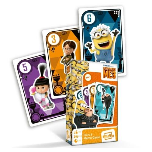 Despicable ME 3 - Gru 3 - pár és memória kártyajáték