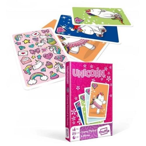 Happy Unicorn - pár és memória kártyajáték