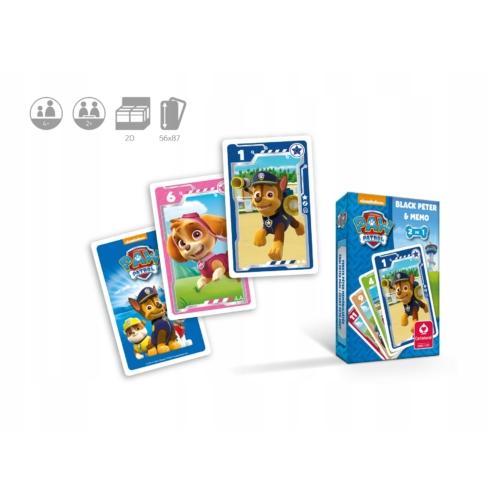 Paw Patrol Mancs Őrjárat - kártyajáték