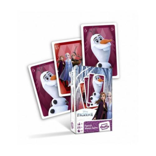 Frozen II -  pár és memória kártyajáték