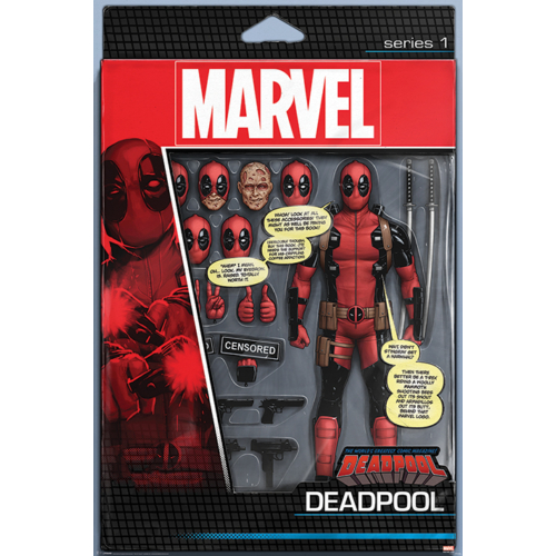 Deadpool - Action Figure poszter (PP34186)