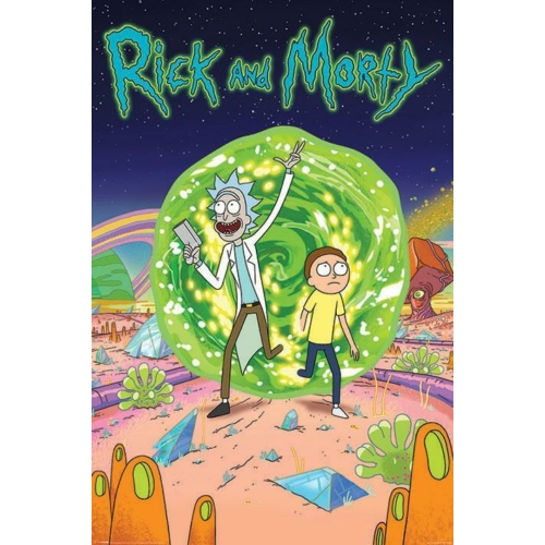Rick and Morty - Portal poszter (PP34064)