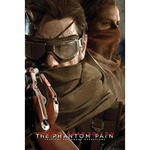 Metal Gear Solid 5 - The Phantom Pain poszter (FP3687)