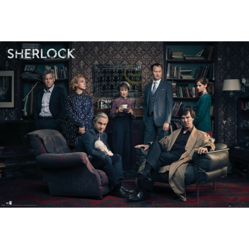 Sherlock - Cast poszter (FP4478)