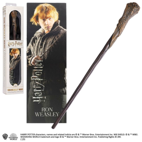 HARRY POTTER filmes replika Ron Weasley varázspálca 30 cm