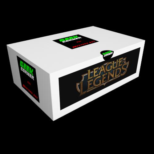 LOL League of Legends Mystery Geekbox meglepetés csomag XXL