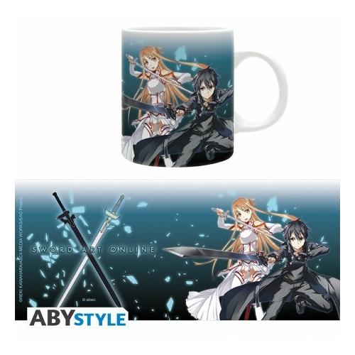 Sword Art Online Asuna és Kirito bögre