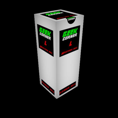 GAMER Mystery Geekbox meglepetés csomag L
