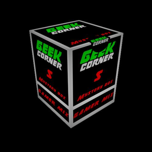GAMER Mystery Geekbox meglepetés csomag S