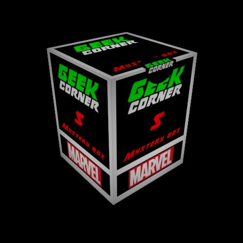 MARVEL Mystery Geekbox meglepetés csomag S