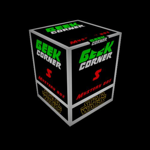 STAR WARS - Csillagok Háborúja Mystery Geekbox meglepetés csomag S
