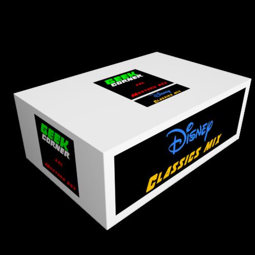 DISNEY CLASSICS Mystery Geekbox meglepetés csomag XXL