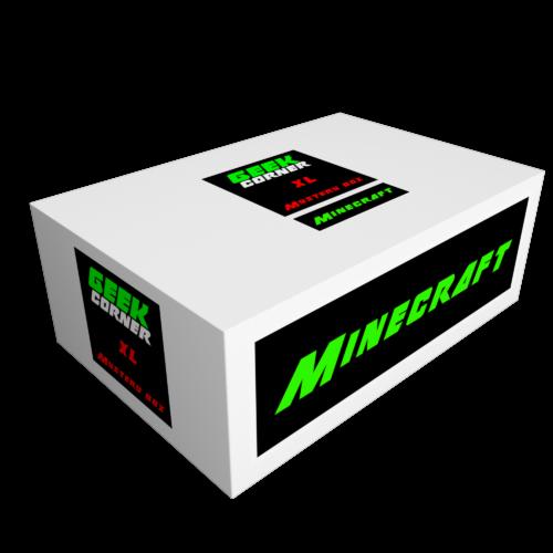 MINECRAFT Mystery Geekbox meglepetés csomag XL